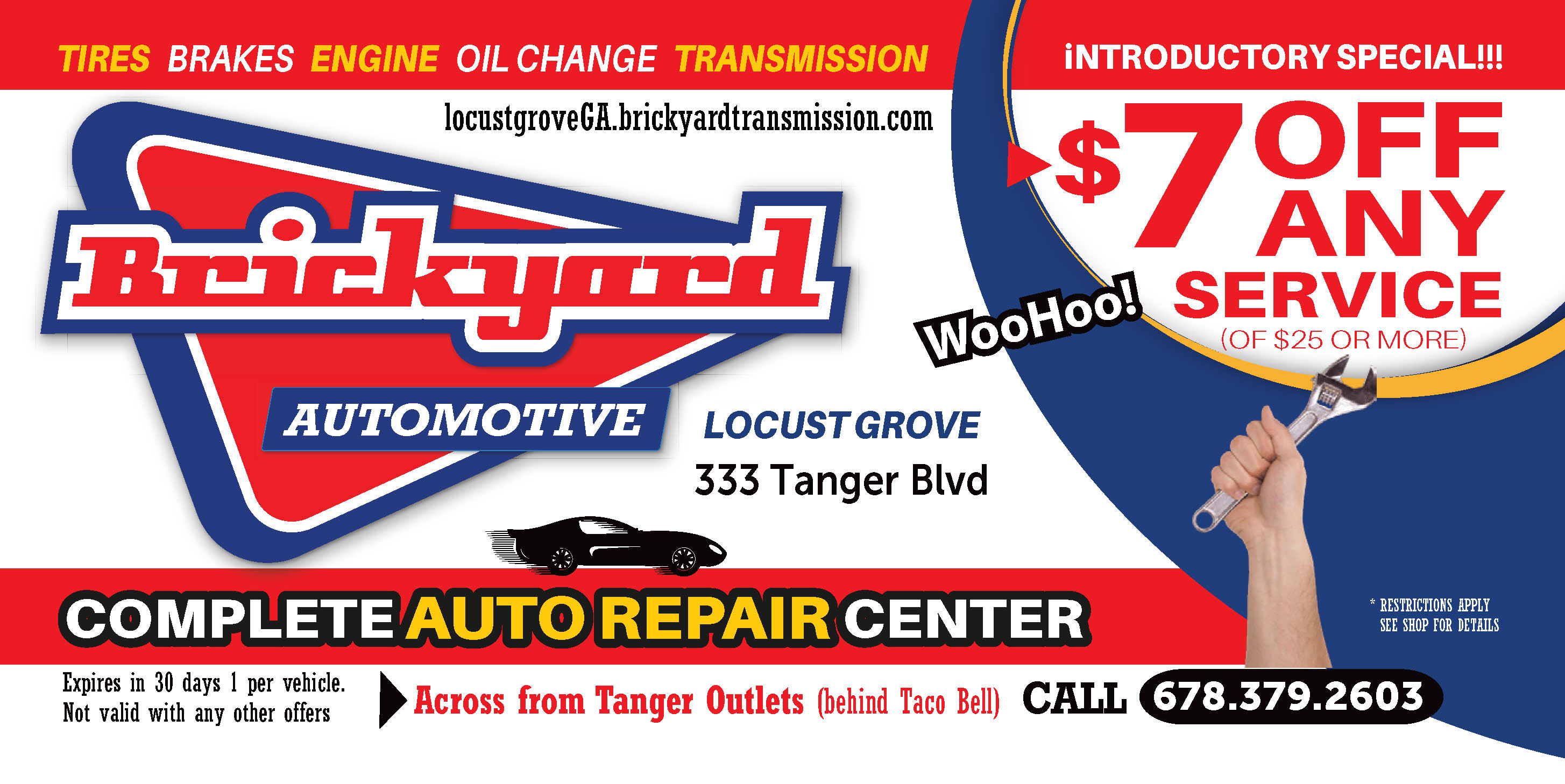 $7 Off Any Automotive Service