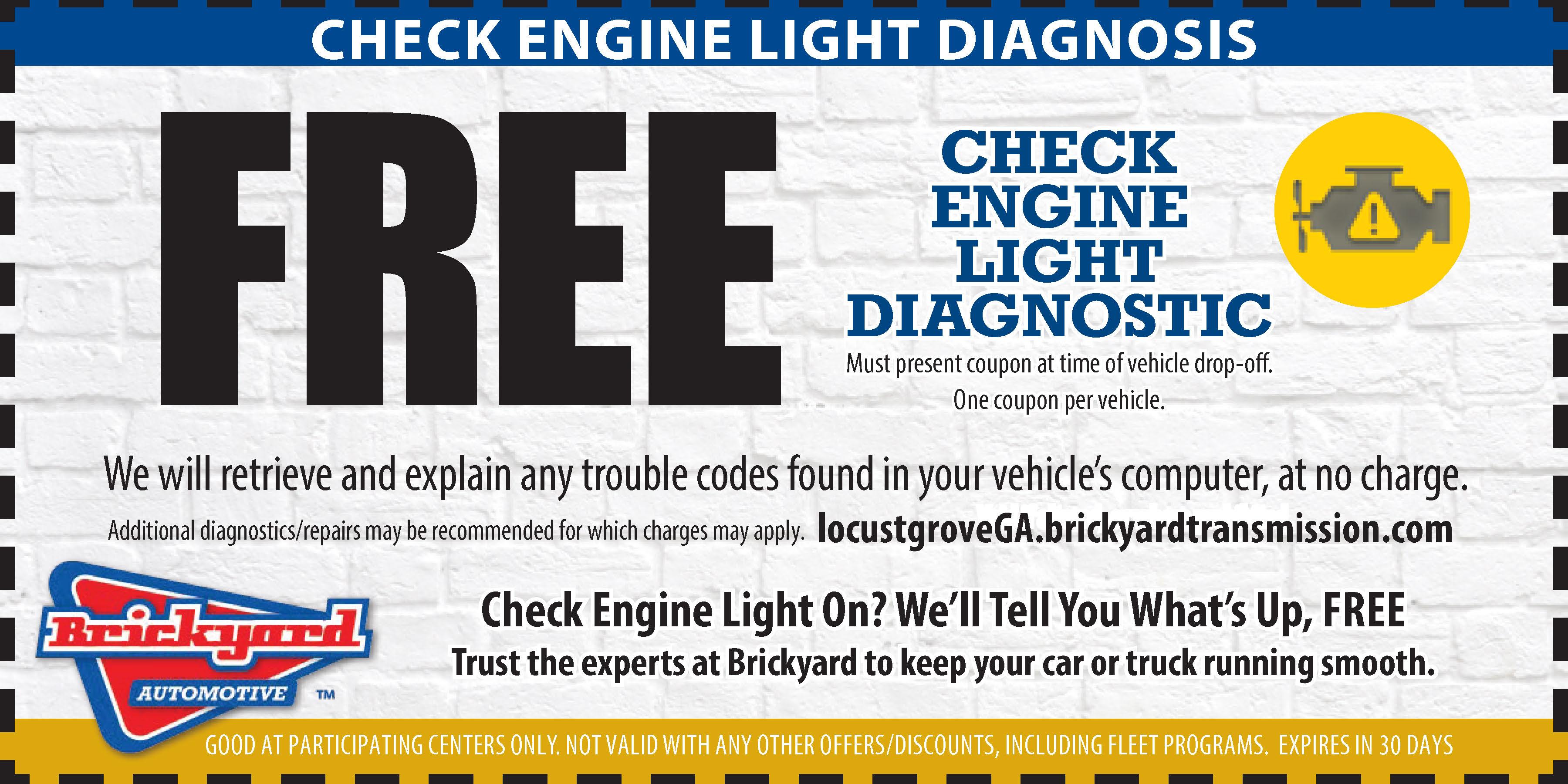 Check Engine Light Diagnositics