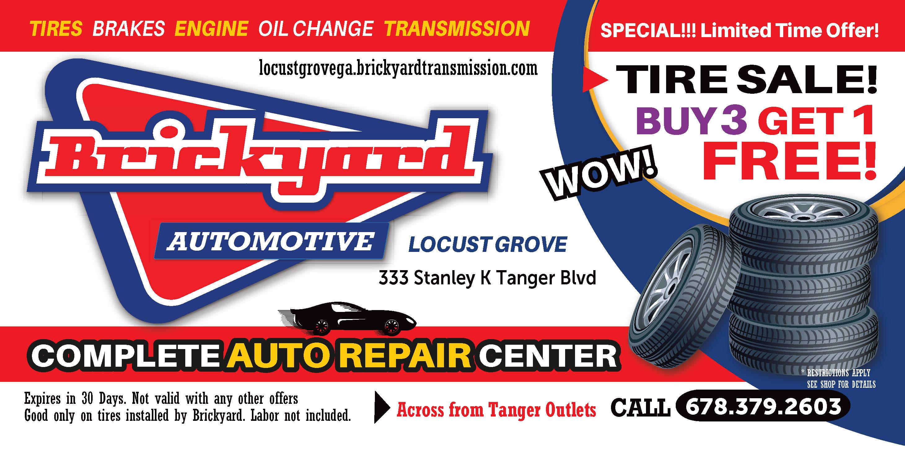 Locust Grove Tire Deal